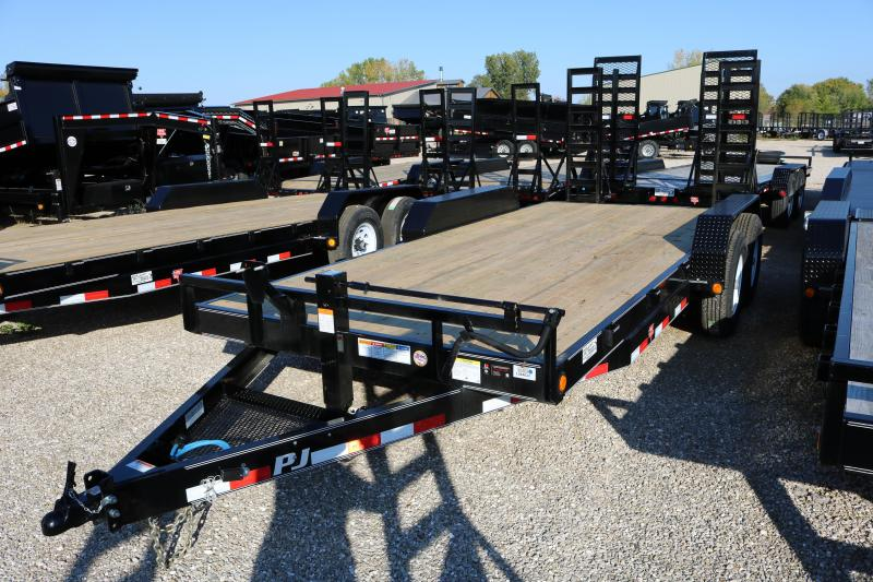 2018 PJ Trailers 18' CC Equipment Trailer