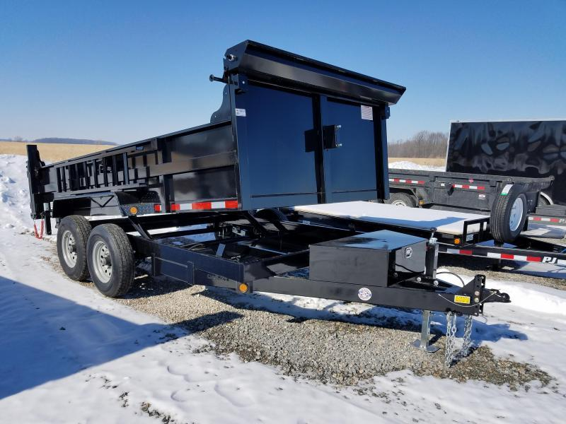 2018 Quality Steel and Aluminum 83X14 LP 14K Dump Trailer