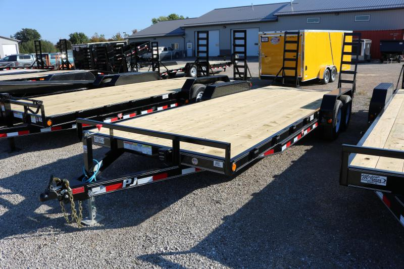 2018 PJ Trailers 22' CE Equipment Trailer