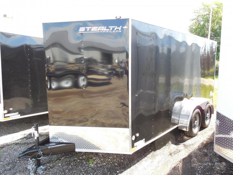 2015 Stealth Trailers Titan 7x14 TA with Ramp Cargo / Enclosed Trailer