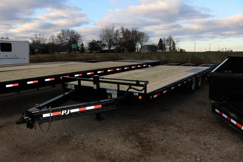 2018 PJ Trailers 24' I-Beam Deckover Trailer