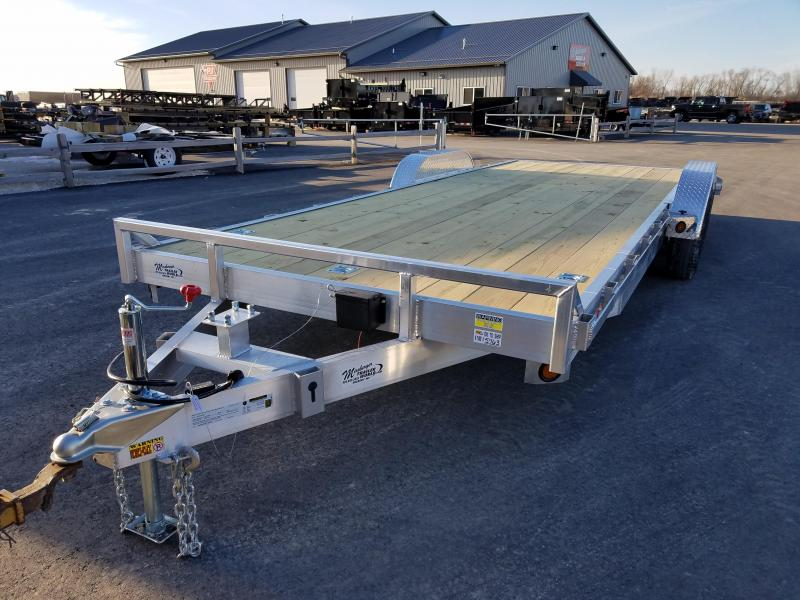 2018 Quality Steel and Aluminum 8322ALEH 10K Equipment Trailer