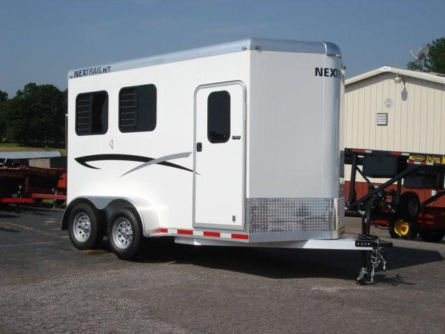2012 Nextrail Trailers BP 2H SL w/Dress Horse Trailer
