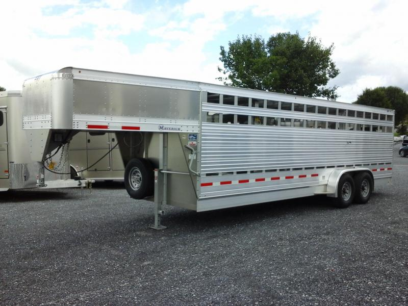2019 Eby Trailers 24ft Maverick Freedom Plus Edition Livestock Trailer