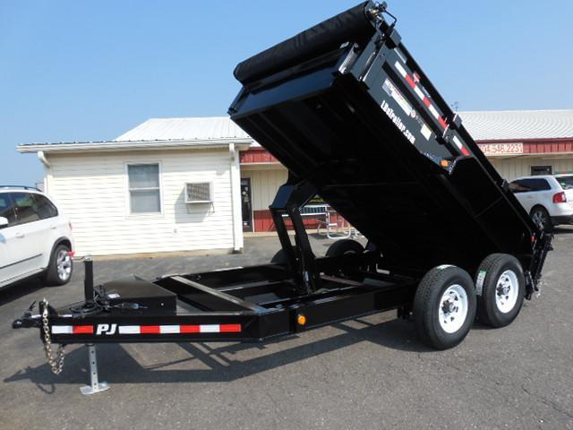 2018 PJ Trailers BP 12 x 83 Low Pro Dump Trailer