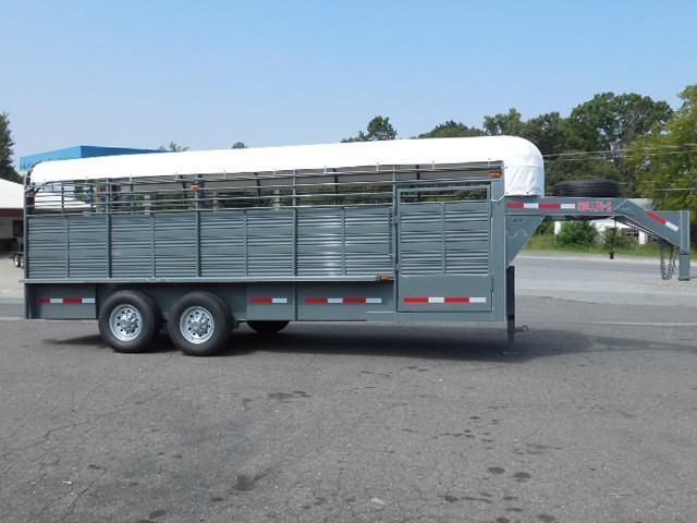 2015 Rollin-S 20ft Stock Stock / Stock Combo Trailer