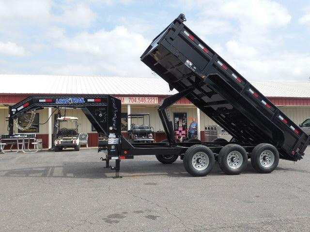 2017 Load Trail GN 83 x 16  Dump Trailer