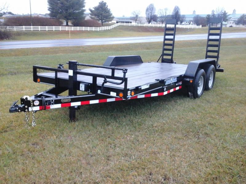 2016 Load Trail 83 x 18' Tandem Axle Carhauler Car / Racing Trailer