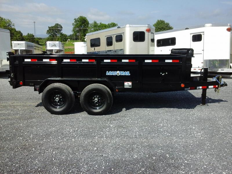 2018 Load Trail 83x14 Taden Axle Dump Trailer