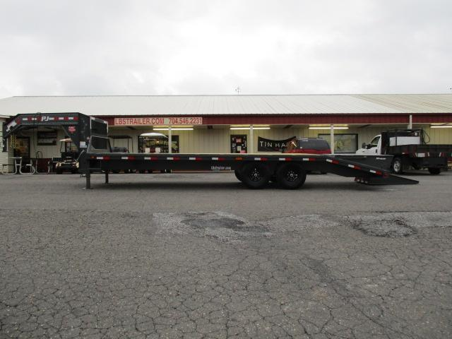 2019 PJ Trailers 25ft Flatdeck w/Singles Equipment Trailer