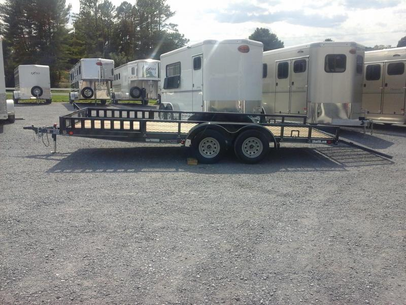 2018 Load Trail 83 x 18 Tandem Axle Utility Trailer