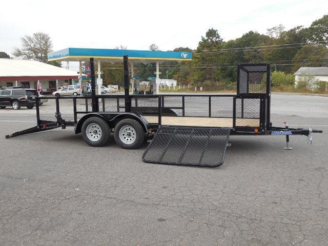 2017 Load Trail BP 83 x 18 Landscape Equipment Trailer