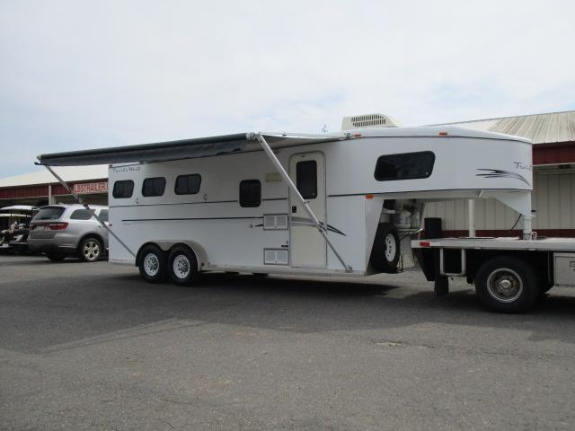2000 Trails West Manufacturing Horse Trailer