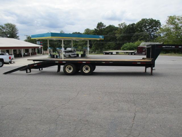 2007 Pro Line 102 x 25 Equipment Trailer
