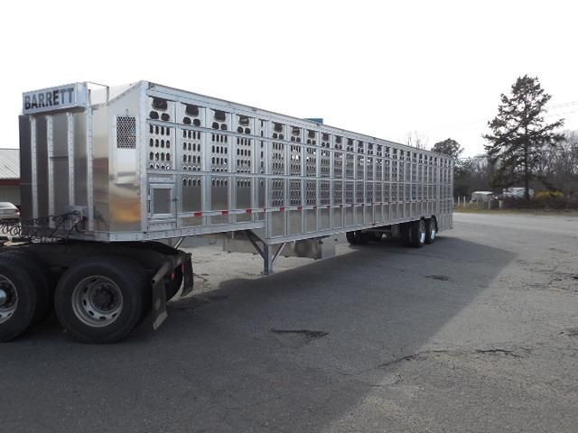 2018 Barrett Trailers 53ft Ground Loader Livestock Trailer