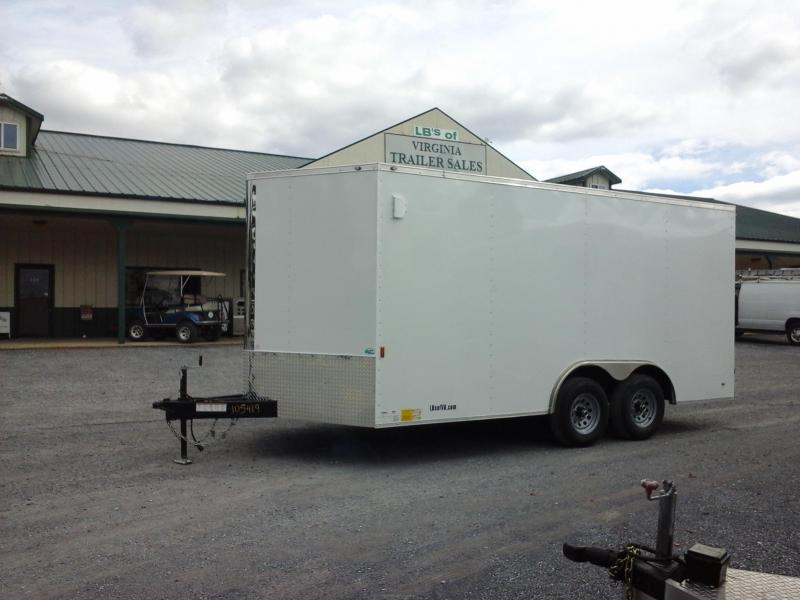 2018 Continental Cargo 8.5x16 Enclosed Cargo Trailer