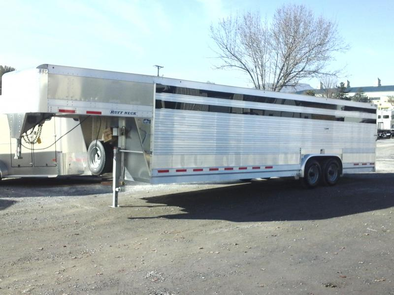 2019 EBY 28ft Ruff Neck Livestock Trailer