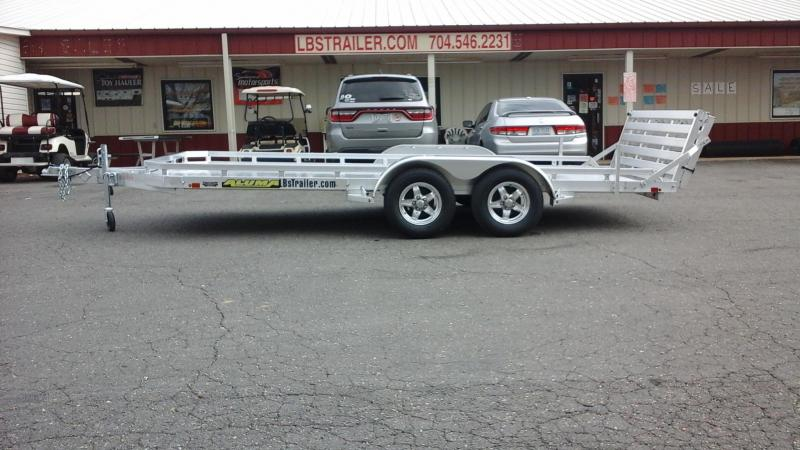 2018 Aluma BP 7816 BT Utility Trailer