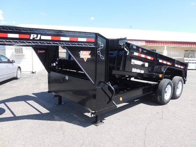 2018 PJ GN 14 x 83 Low Pro Dump Trailer
