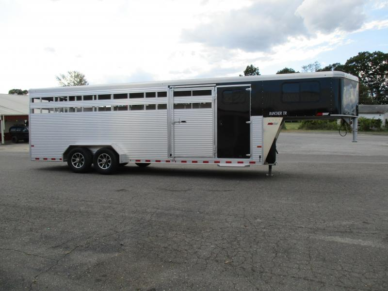2018 Sundowner Trailers GN 24ft Rancher TR Livestock Trailer