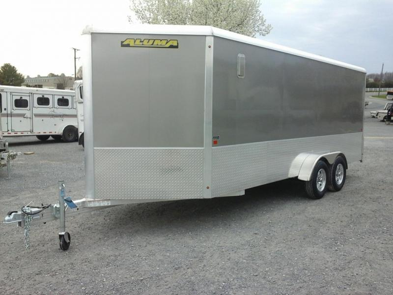 2020 Aluma 7X18 TA Enclosed Cargo Trailer
