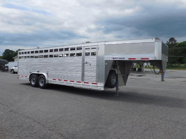 2017 Eby Trailers GN 24ft Ruffneck Stock / Stock Combo Trailer