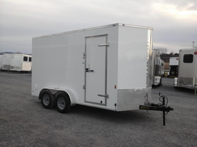2018 Forest River Inc. 7x14 TA Continental Enclosed Trailer
