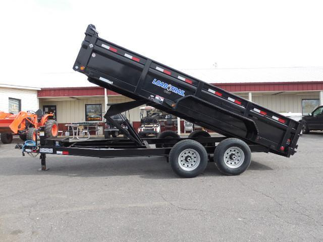 2017 Load Trail BP 83 x 16 Low Pro TA Dump Trailer