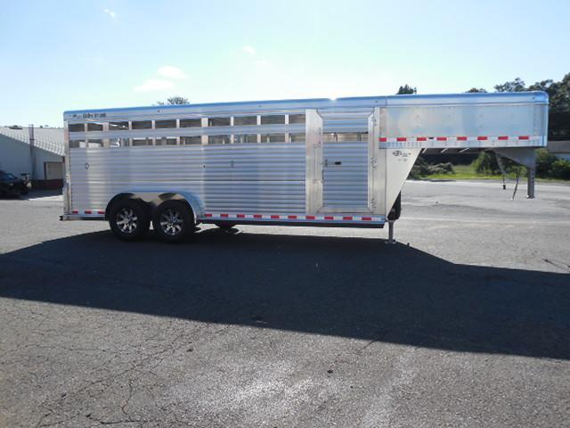 2018 Barrett Trailers GN 20ft Livestock Trailer