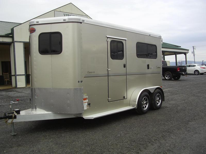 2016 Sundowner Trailers BP 2H Charter TR SE Horse Trailer