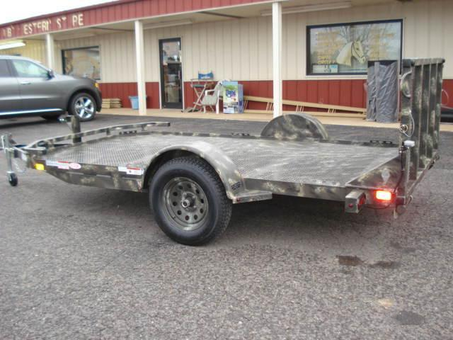 2013 Diamond C Trailers BP 12ft x 77in Utility Trailer