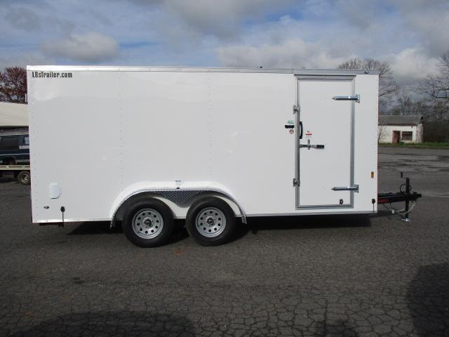 2018 Continental Cargo 7 x 16 TA Enclosed Cargo Trailer