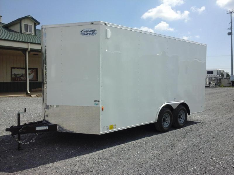 2019 Forest River Inc. 8.5x16 TA Continental Enclosed Cargo Trailer