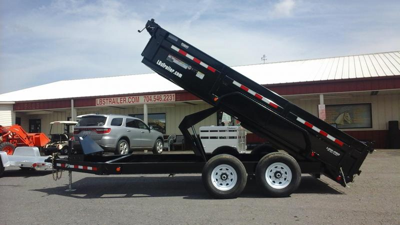 2018 PJ Trailers BP 14 x 83 Low Pro Dump Trailer