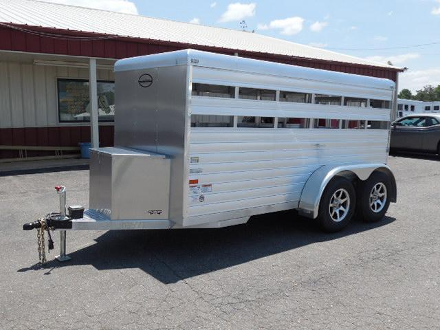 2015 Sundowner Trailers BP 12ft Mini Stock / Stock Combo Trailer