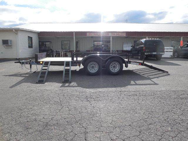2017 Load Trail BP 77 x 14 TA Utility Trailer