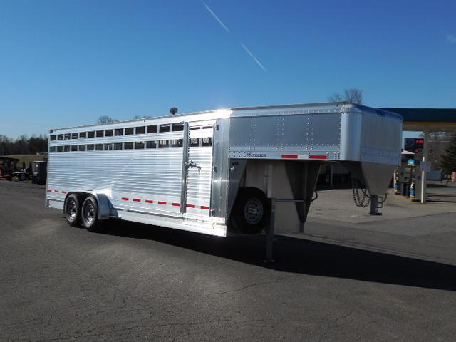 2015 Eby Trailers 24ft Maverick Stock / Stock Combo Trailer
