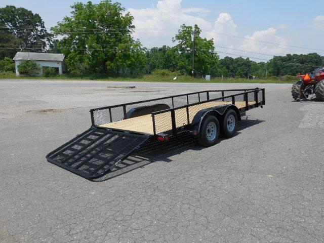 2016 Load Trail BP 83 x 16 TA Car / Racing Trailer