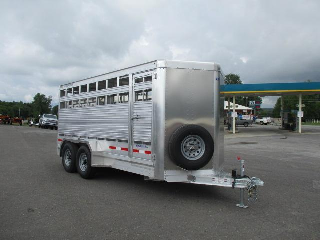 2019 Eby Trailers BP 16ft Maverick LS Livestock Trailer