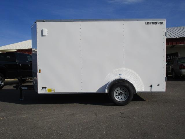 2018 Continental Cargo BP 7 x 12 Enclosed Trailer