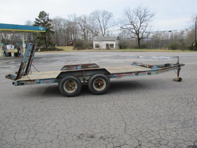 1993 Hudson Brothers 16ft Utility Trailer