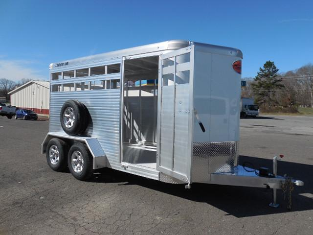 2017 Sundowner Trailers BP 14ft Stockman XP Livestock Trailer