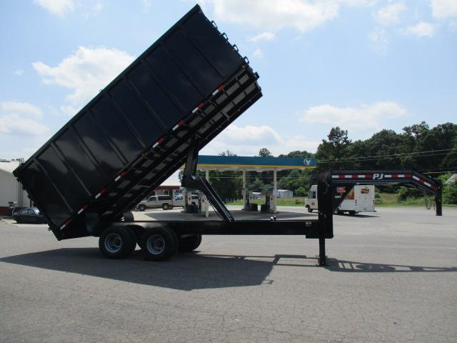 2018 PJ Trailers GN 20ft Dump Trailer