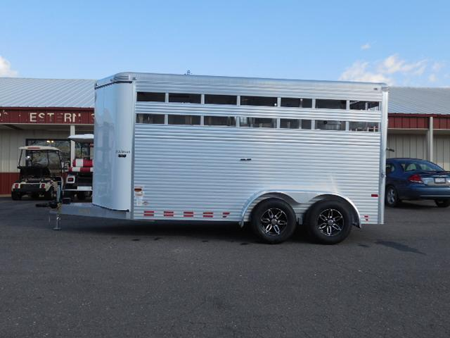 2015 Sundowner Trailers BP 16ft Stock / Stock Combo Trailer