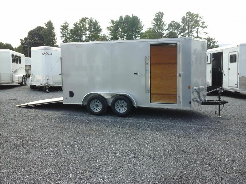 2018 Forest River Inc. 7x14 Tandem Axle Cargo Trailer