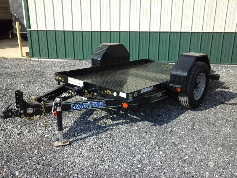 2017 Load Trail 60 x 10 BP Single Axle Scissor Lift Hauler ATV Trailer