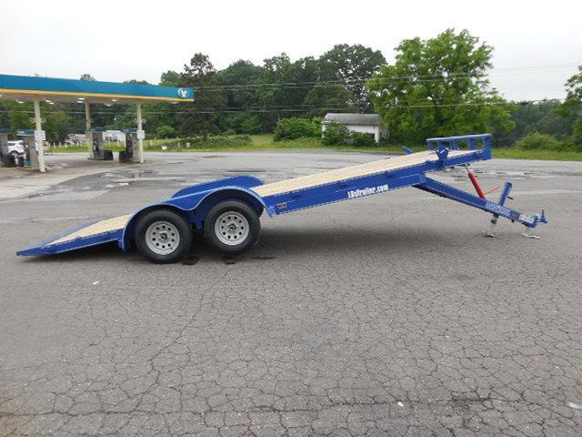 2017 Load Trail BP 83 x 20 Manual Tilt Deck Car / Racing Trailer