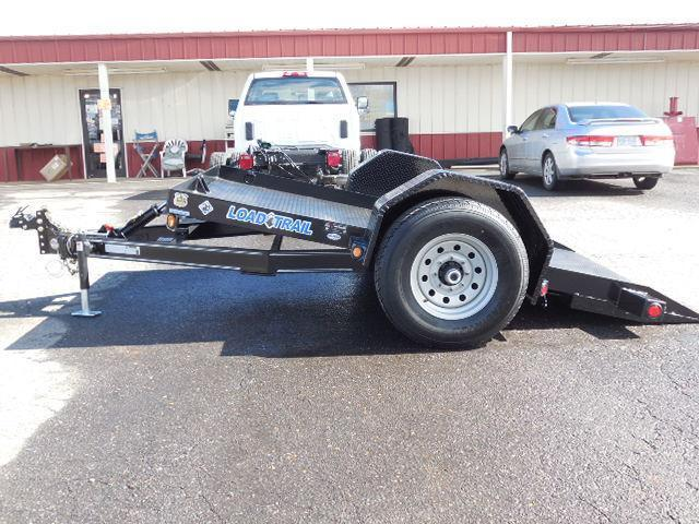2016 Load Trail BP 77 x 10 SA Scissor Hauler Equipment Trailer