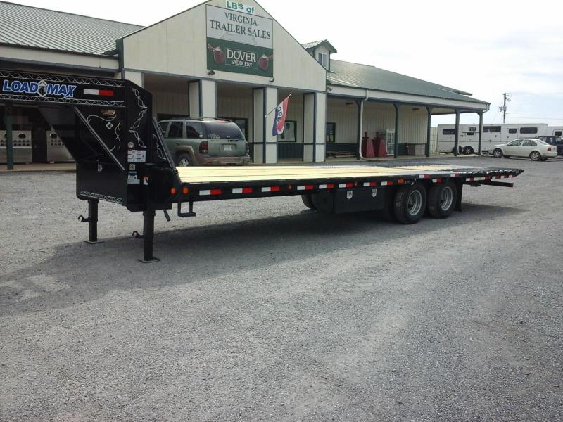 2016 Load Trail GN 102 x 30 Low Pro Hyd Dove Equipment Trailer