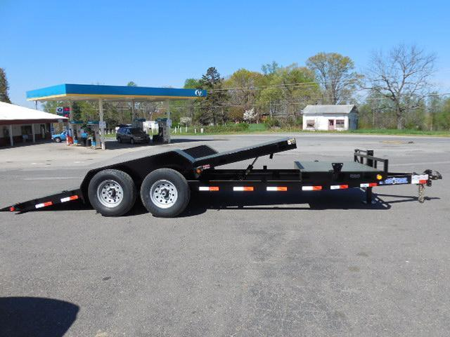 2015 Load Trail BP 81.5 x 20 Tilt Deck Equipment Trailer